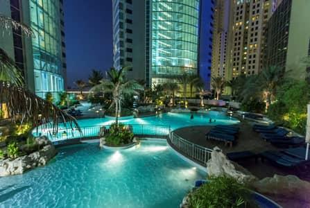 2 Bedroom Apartment for Rent in Jumeirah Beach Residence (JBR), Dubai - REDUCED LUXURY FURNISHED  DUBAI EYE
