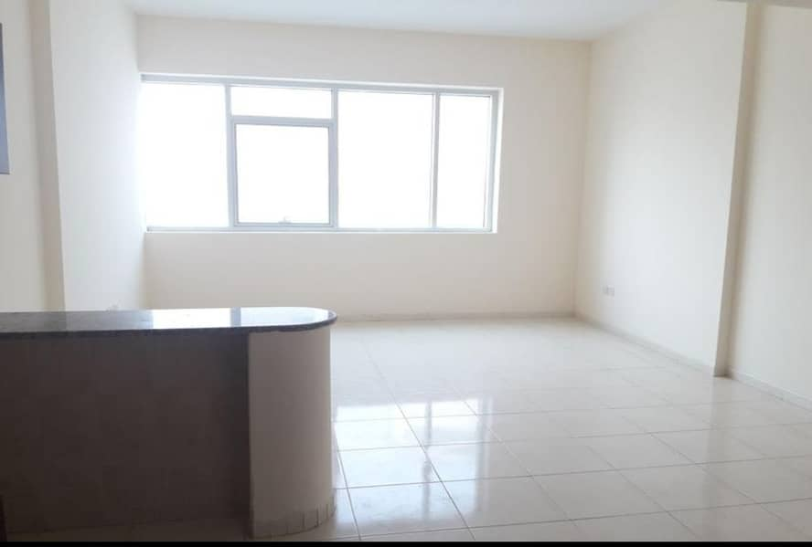 Hurry up offer!!! Biggest Studio with Separate Kitchen + Wardrobes Full Open View & Family Building near Dubai Sharjah border.