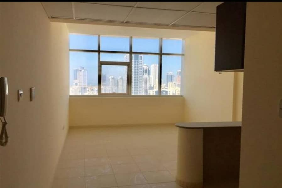 2 Hurry up offer!!! Biggest Studio with Separate Kitchen + Wardrobes Full Open View & Family Building near Dubai Sharjah border.