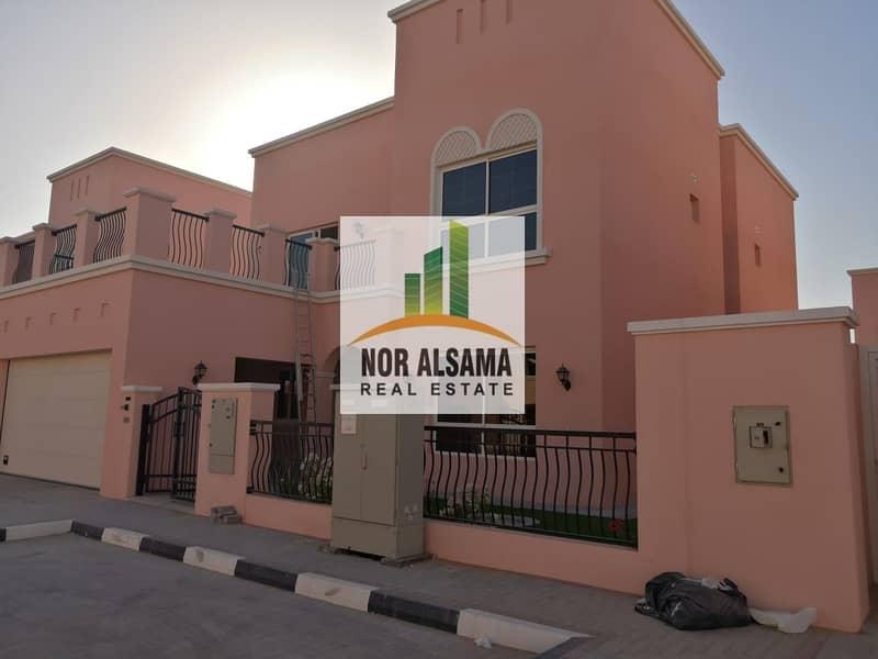 2 NAD AL SHIBA 4BHK + MAIDROOM NEW VILLA READY TO MOVE