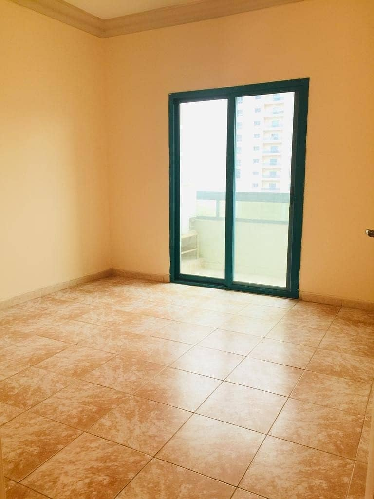 2 No Cash Deposit. 1bhk with balcony in family building easygoing to dubai in just 23k