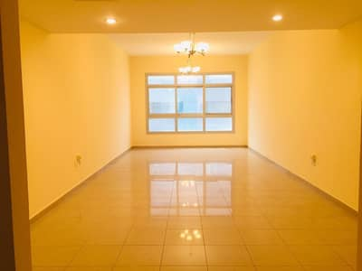 chiller + parking + 1 Month free .. Bigger 3bhk with wardrobe balcony maid room in family building just in 53k
