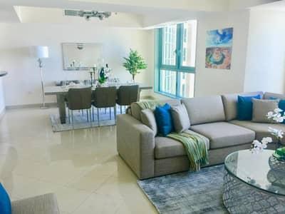 شقة 3 غرف نوم للايجار في منطقة الكورنيش، أبوظبي - Luxury apartments with a very distinctive sea view 3 bedrooms -2 bathroom