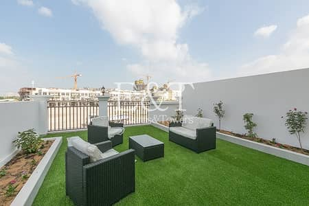 4 Bedroom Townhouse for Sale in Jumeirah Village Circle (JVC), Dubai - Corner 4 BR Ensuit + Maids  TH | Huge Garden | JVC