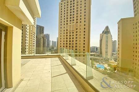 شقة 2 غرفة نوم للبيع في جميرا بيتش ريزيدنس، دبي - Shams | 2 Bed | Large Terrace | Vacant