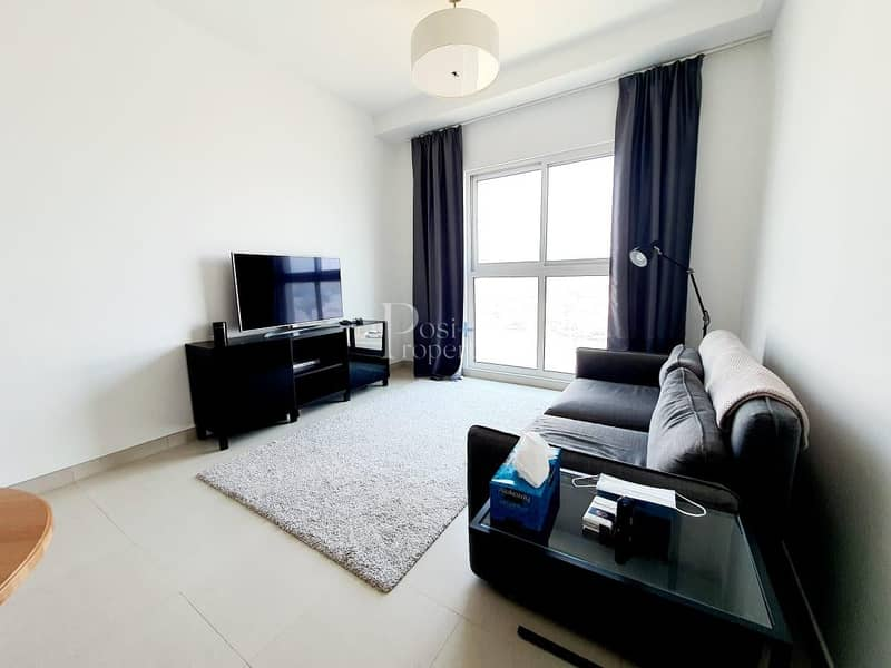 FULLY FURNISHED | GLAMOROUS 1 BED | READY TO MOVE IN
