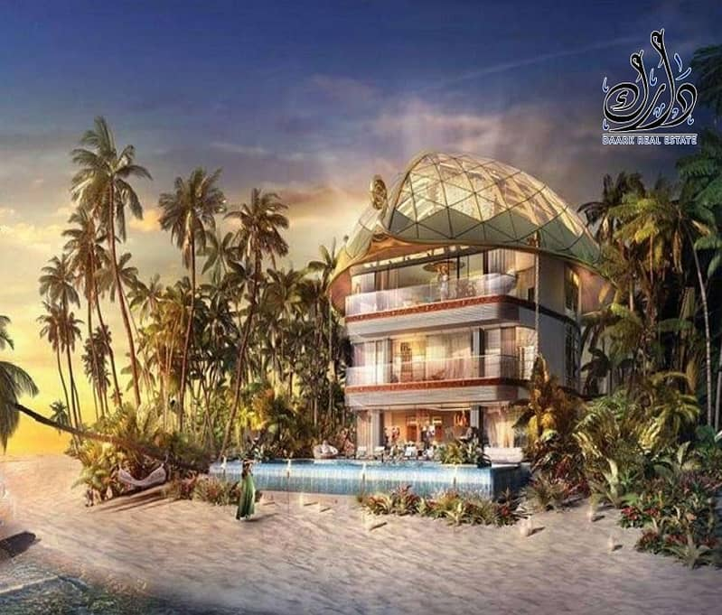 2 Own a Palace unique with amazing Island in Dubai
