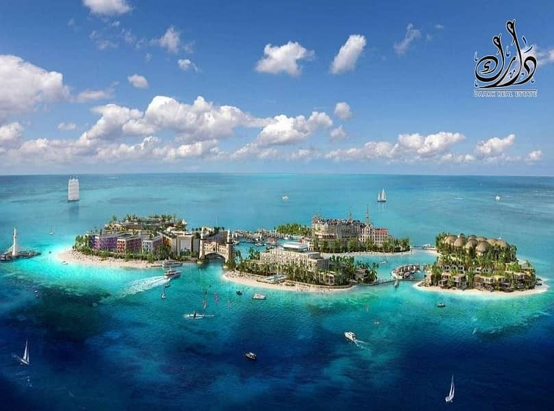 Own a Palace unique with amazing Island in Dubai