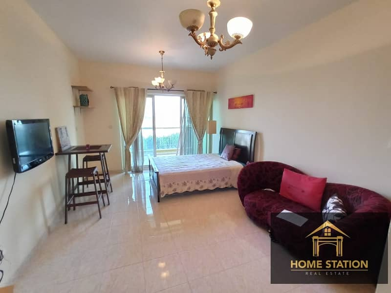 CHILLER FREE |EMAAR|  SEMI FURNISHED | BRIGHT & SPACIOUS