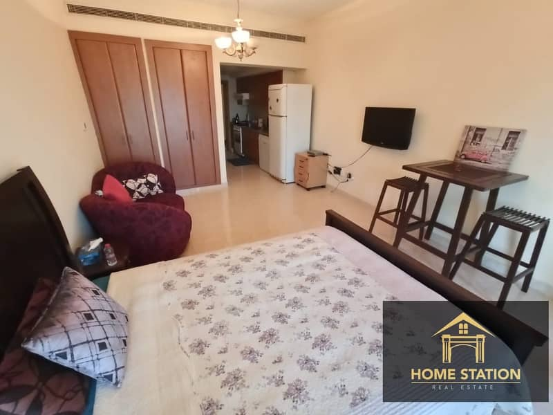 2 CHILLER FREE |EMAAR|  SEMI FURNISHED | BRIGHT & SPACIOUS