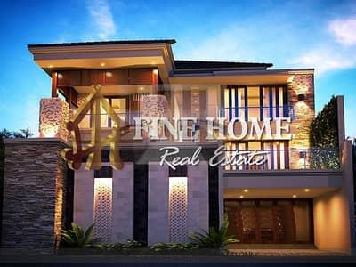 فیلا 7 غرف نوم للبيع في الشامخة، أبوظبي - Popular House | 7 Bedrooms | Big Patio