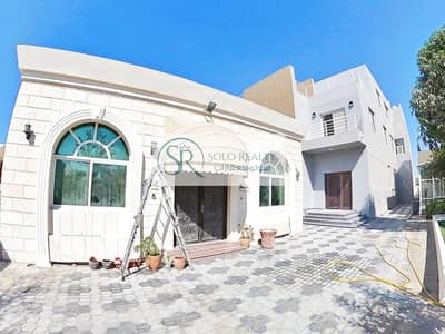 8 Bedroom Villa for Rent in Khalifa City A, Abu Dhabi - Private Entrance Villa I Capacious 8 BR+Maid I Blissful Yard I Driver Room I  Great Location