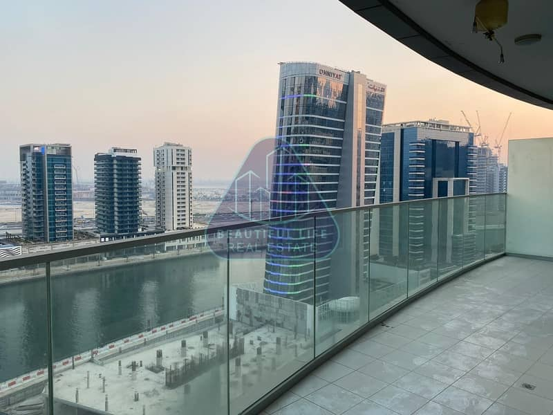 2 Luxurious Furnished   1BR Apartment   Canal View   Largest Balcony