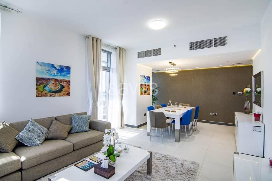 2 New Building |Three bedroom | Balcony | 4payments