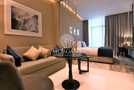 استوديو  للايجار في الخليج التجاري، دبي - BRAND NEW   Studio+Balcony   Canal+Pool Views