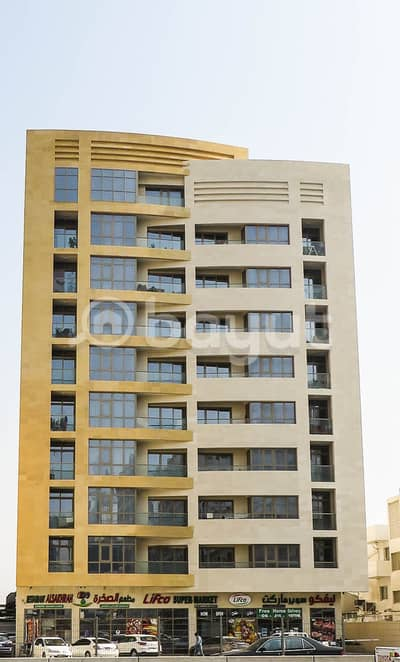 1 Bedroom Apartment for Rent in Al Wahda Street, Sharjah - ONE BED ROOM FOR RENT,A BRAND NEW BUILDING, DIRECT FROM OWNER . NO COMMISSION .