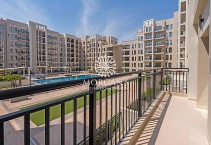 2 Bedroom Apartment for Rent in Town Square, Dubai - Spacious 2 BR / Pool View / Middle floor