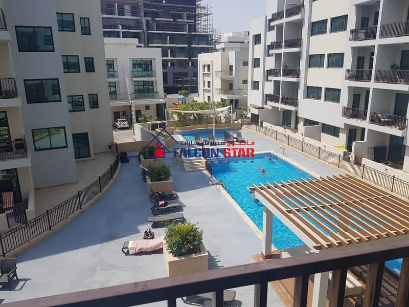 2 HIGH END FINISHING POOL & GARDEN VIEW -BRIGHT 1 BED WITH LAUNDRY ROOM