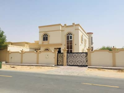 SPECIOUS VILLA FOR RENT 5 BHK WITH MAJLIS AND 10000 SQFT IN AL RAQAIB 1 AJMAN,
