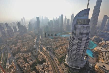 4 Bedroom Flat for Rent in Downtown Dubai, Dubai - SPACIOUS 4BEDS | BURJ & FOUNTAIN VIEW