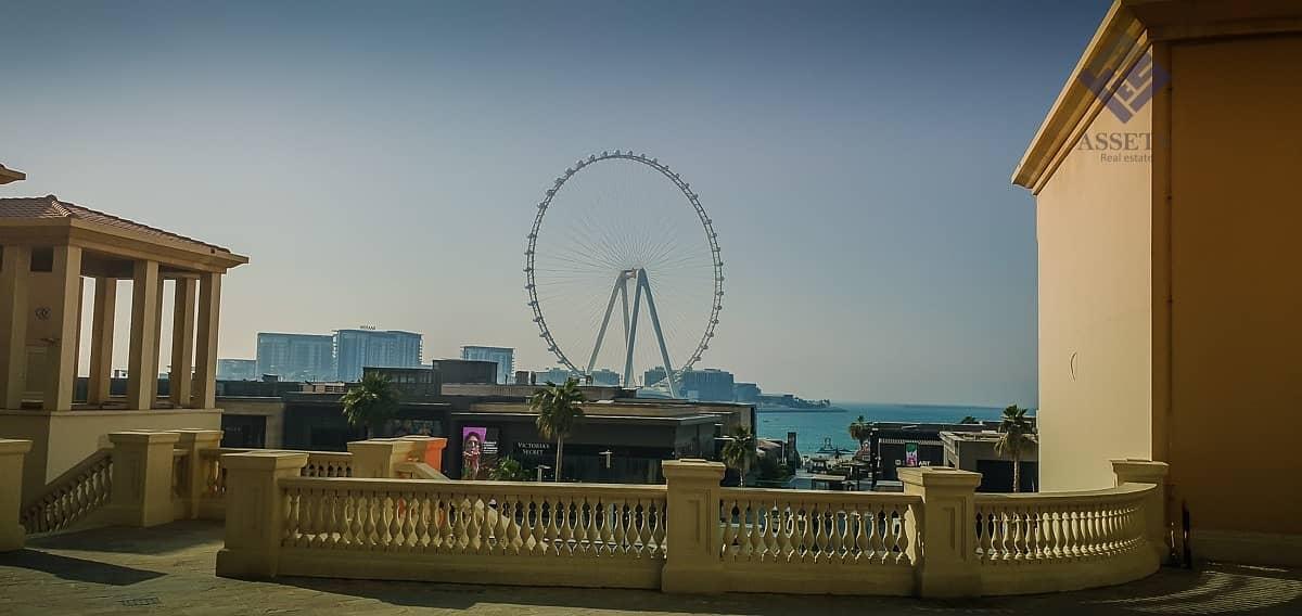 10 Beach Access w/Dubai Eye & sea View/Higher floor