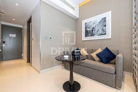 استوديو  للايجار في الخليج التجاري، دبي - On High Floor and Furnished   Canal View