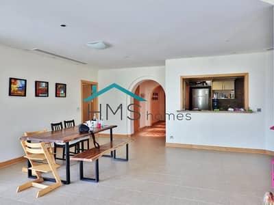 فلیٹ 3 غرف نوم للايجار في نخلة جميرا، دبي - Shoreline | A Type | High Floor