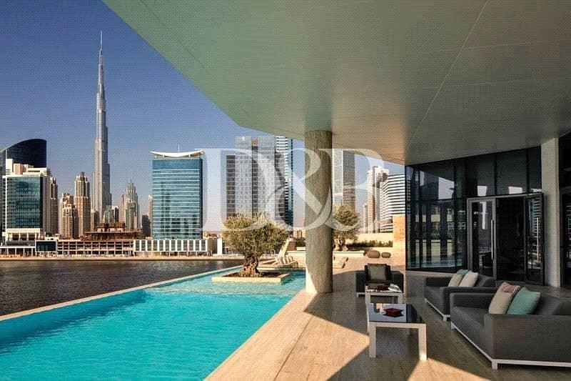 Half Floor | Brand New | Canal & Burj Khalifa View