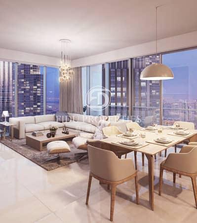 فلیٹ 2 غرفة نوم للبيع في وسط مدينة دبي، دبي - Exclusive | On High Floor | Boulevard View
