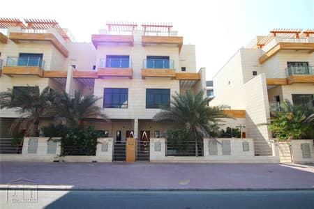 4 Bedroom Townhouse for Rent in Jumeirah Village Circle (JVC), Dubai - 4BR+Maids | Corner Plot | Great Location