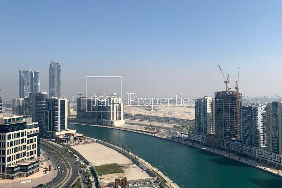 High Floor! Full Canal View! Furnished!