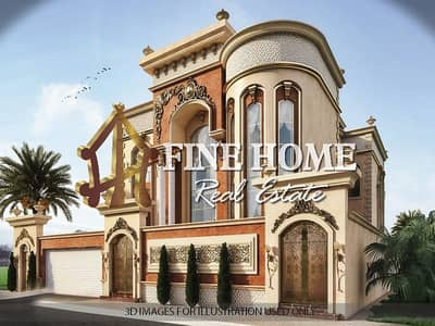 9 Bedroom Villa for Sale in Airport Street, Abu Dhabi - Villa | 18 Studio | Located On Corner & 2 Streets