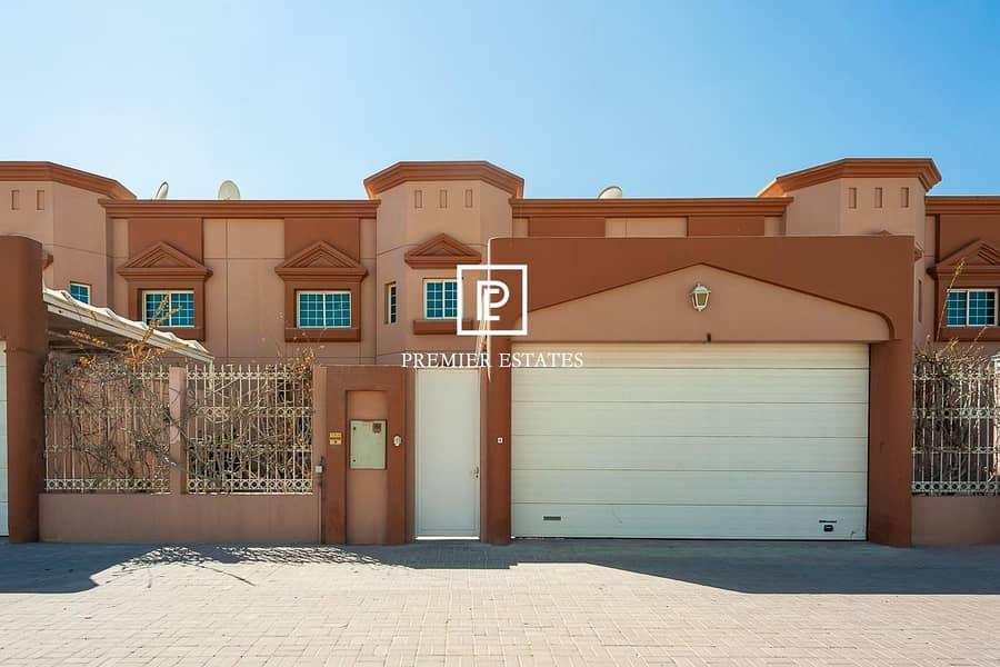 15 4 Bedroom + Maids Large Villa Pool & Gym IFor Rent
