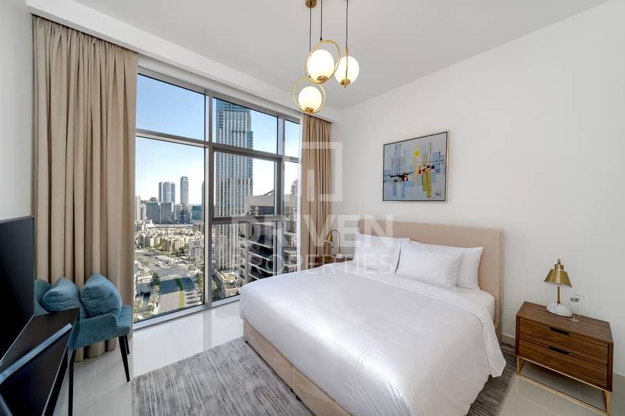 Burj Khalifa View |High Floor |Furnished