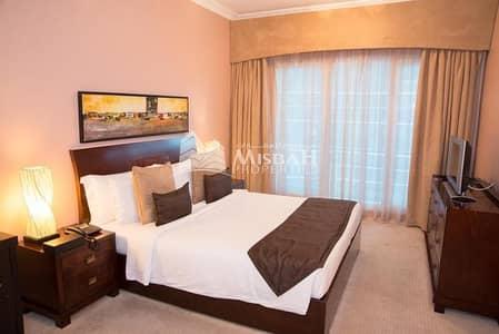 شقة 1 غرفة نوم للايجار في البرشاء، دبي - Fully Furnished 1BHK 2Bathroom Kitchen Appliance 6 Cheques Huge Hall Apt in AL Barsha near MOE 45K