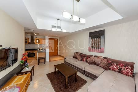 1 Bedroom Flat for Rent in Dubai Marina, Dubai - Superb Unit | Low Floor | Furnished | Balcony
