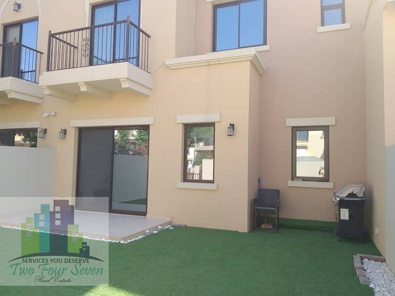 27 Unfurnished 3 bedroom villa  with maids room/nice garden in Mira 2