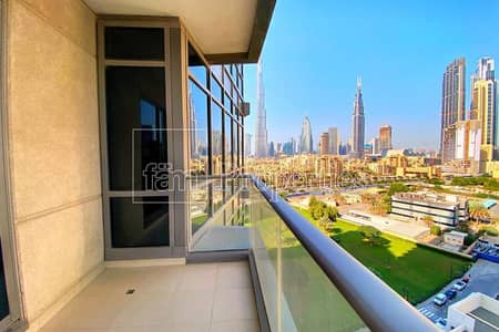 Rented 1BR with Burj Khalifa view