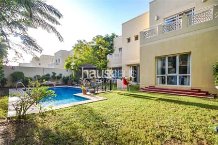5 Bedroom Villa for Rent in The Meadows, Dubai - Available mid-January | Upgraded + Extended