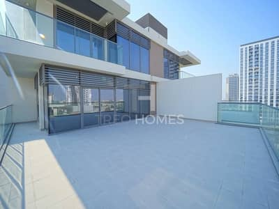3 Bedroom Apartment for Rent in Dubai Hills Estate, Dubai - Huge Terrace | Chiller Free | Pool View