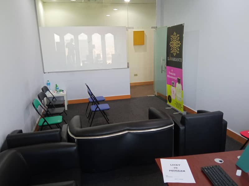 1 Best HOT DEAL OF OFFICE FOR RENT FURNISHED WITH BEST LOCATION