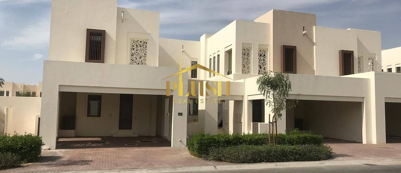2 SINGLE ROW l CLOSE TO POOL & PARK l READY TOWNHOUSE l EMAAR