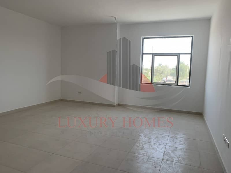Luxury brand new Apt with clear white interior