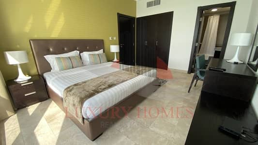 1 Bedroom Apartment for Rent in Corniche Area, Abu Dhabi - Elegantly Furnished unit with Shared Swimming Pool