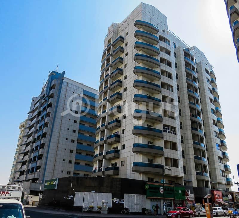 شقة في برج بوري B النهدة 2 النهدة 2 غرف 45000 درهم - 4855266