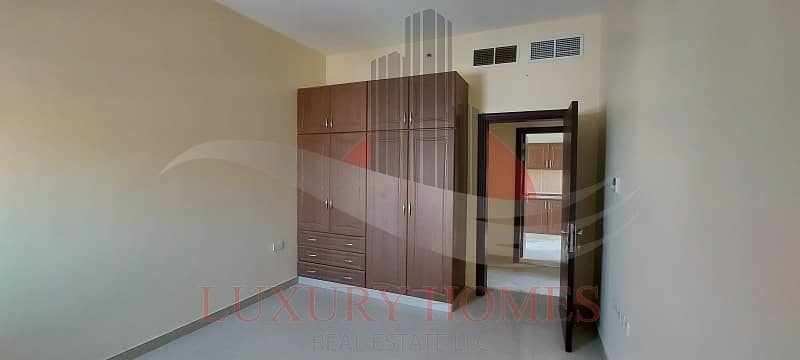 Spacious and bright with built in wardrobes