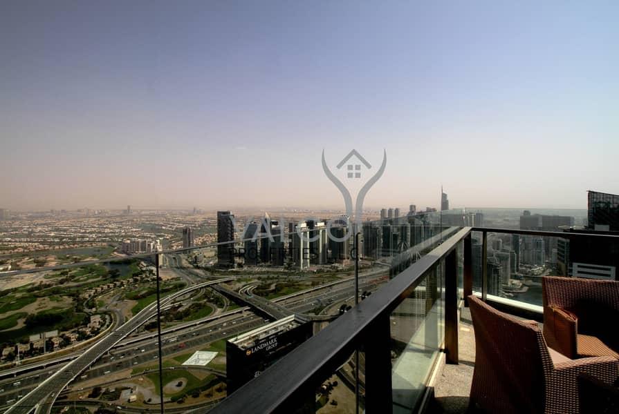 4BR+M Penthouse|Palm Sea & Marina Skyline View