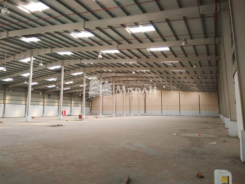 2  97000 sqft warehouse for Storage/ commercial/ sports activities