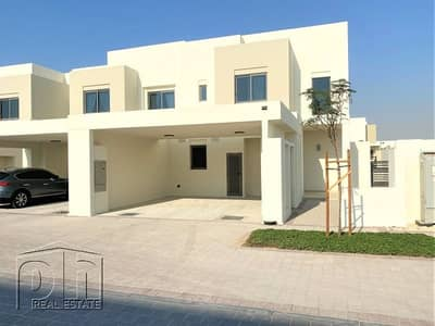 4 Bedroom Villa for Sale in Town Square, Dubai - Four Bedroom | Single Row | Full Park View