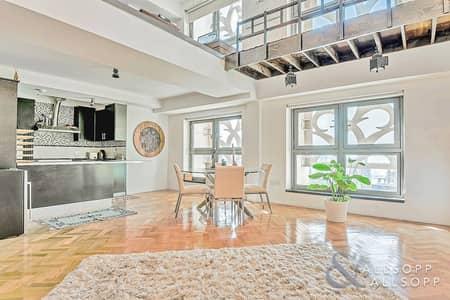 شقة 1 غرفة نوم للبيع في جميرا بيتش ريزيدنس، دبي - Upgraded | Loft Apartment | Marina Views